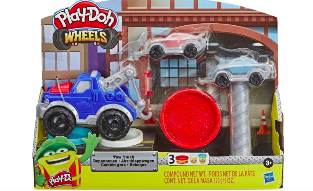 Пластилин и наборы Play-Doh для детей. Большой обзор