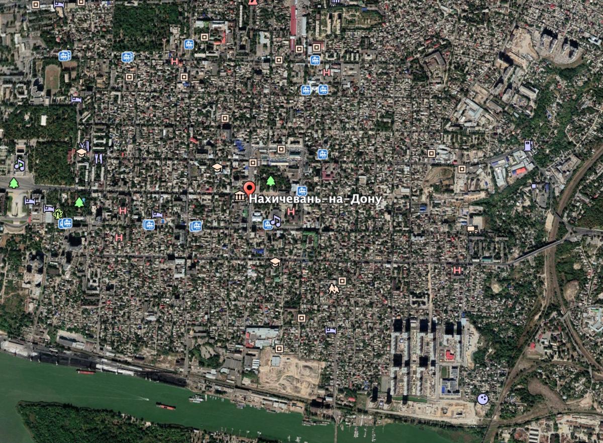 Ekran görüntüsü: Google Earth
