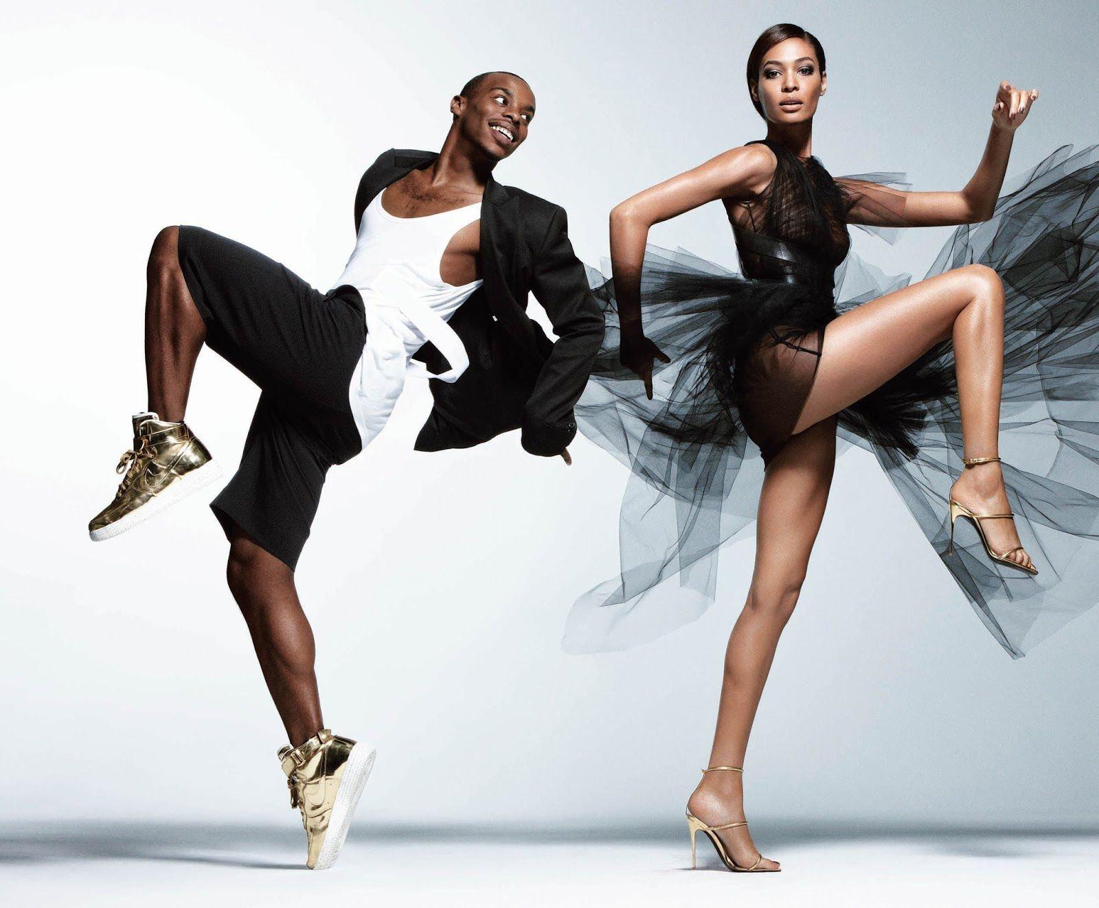 фотографии моделей в танце