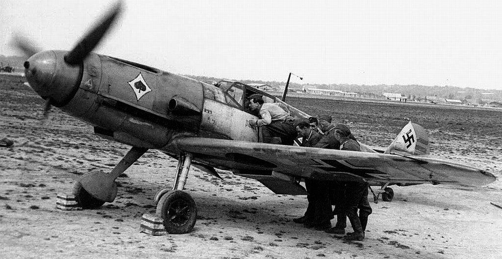 Bf.109F2 во Франции. Немецкие истребители этой модификации были самыми опасными из тех, что воевали на Восточном фронте летом 1941 года/ ©Wikimedia Commons