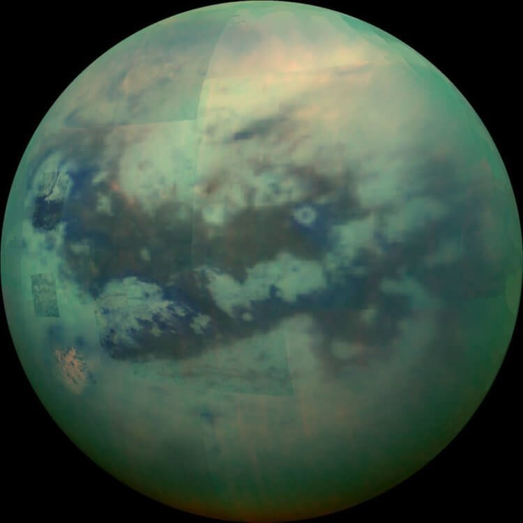 Титан — загадочный спутник Сатурна, который напоминает Землю