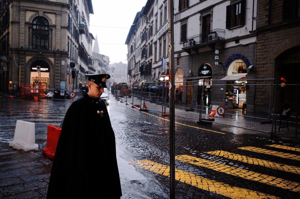 Флоренция, 2020. Фотограф Антонио Трогу