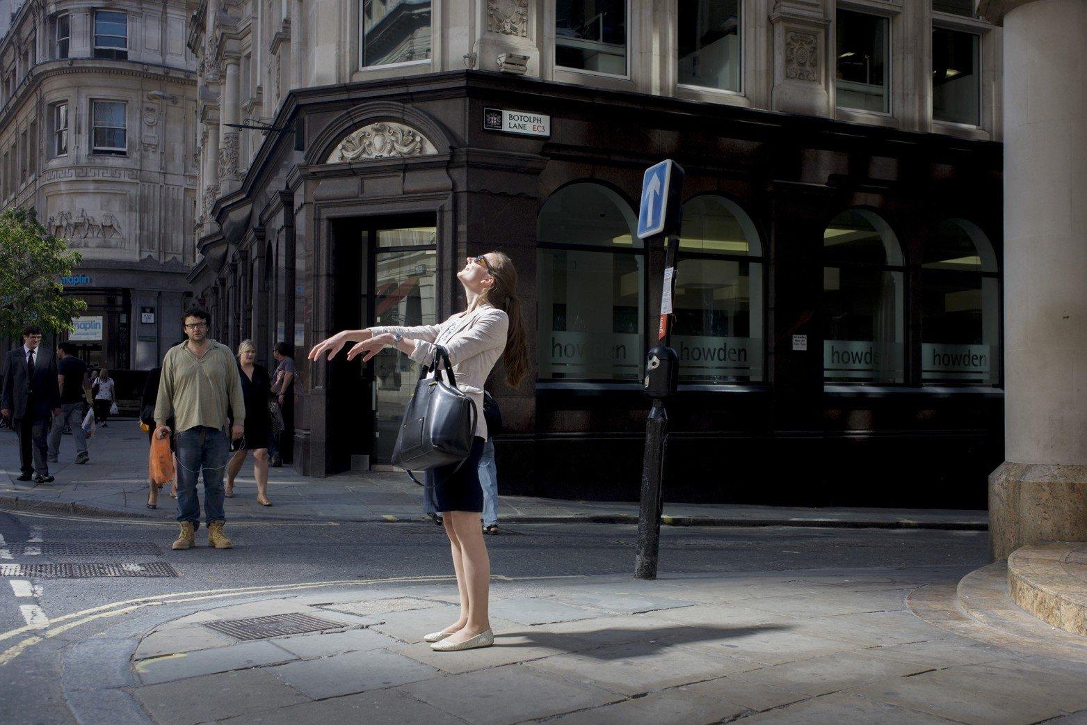 Тепло, Лондон, 2013. Фотограф Ричар Бейкер