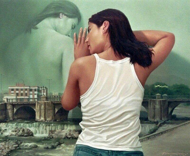 Галерист  Джонни Паласиос Идальго — красота  женщин на картинах художника