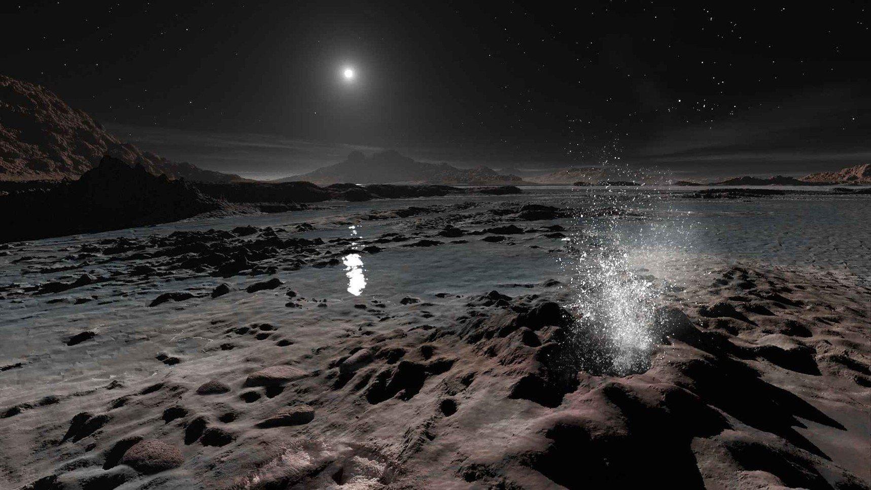 Как выглядит Солнце с Плутона