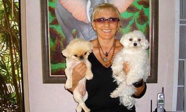 Людмила Исакович с собачками