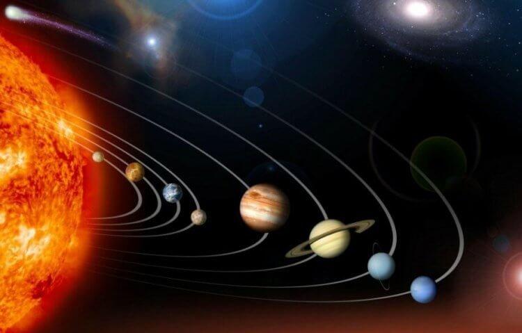 В некоторые факты о солнечной системе по истине сложно поверить