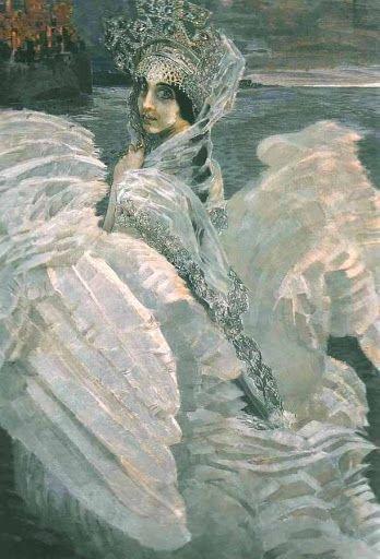Михаил Врубель. Царевна-Лебедь, 1900 г.Государственная Третьяковская галерея, Москва