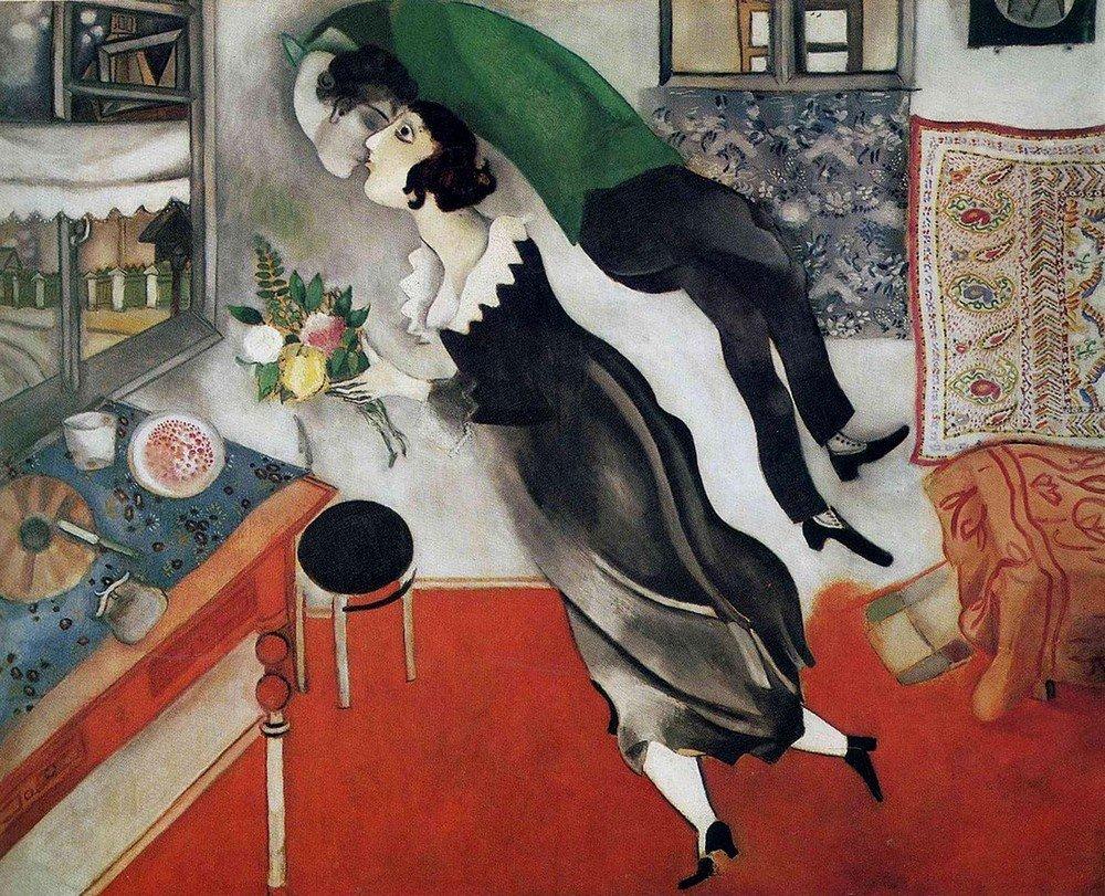 День рождения, 1915 г.Нью-Йоркский музей современного искусства, Нью-Йорк, США