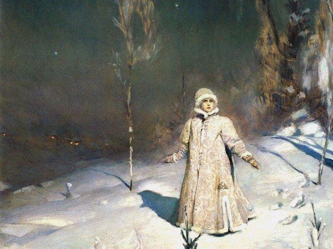 Виктор Васнецов. Снегурочка, 1899 г.Государственная Третьяковская галерея, Москва