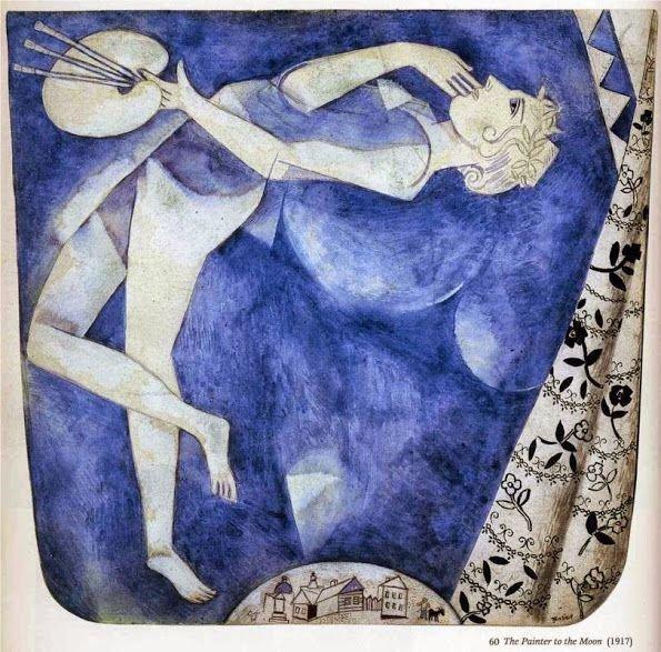 Художник на Луне, 1917 г. wikiart.org