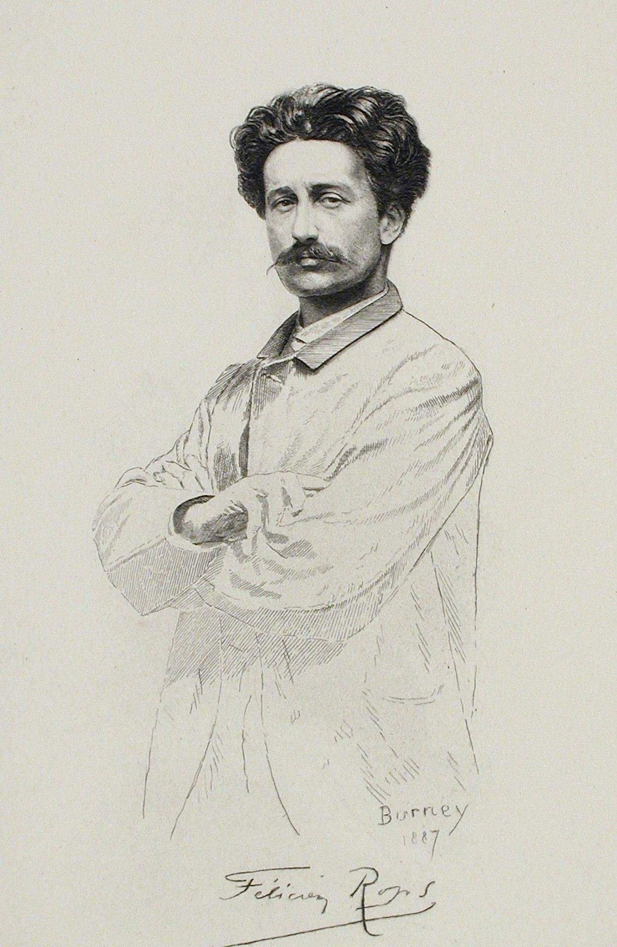 Автопортрет. 1887 г,