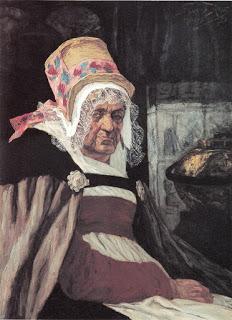 Глава старого Антверпена1873 г. Масло, дерево.Музей Фелисьена Ропса, Намюр, Бельгия.