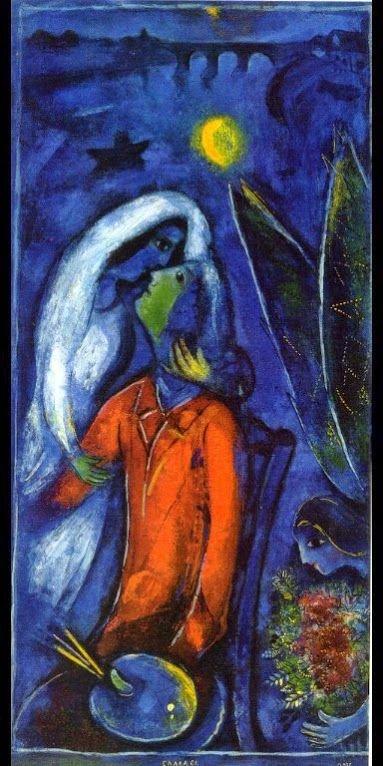 Любовники у моста, 1948 г.частное собраниеwikiart.org