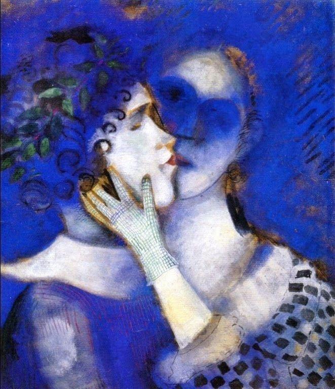 Синие любовники, 1914 г.частное собраниеwikiart.org