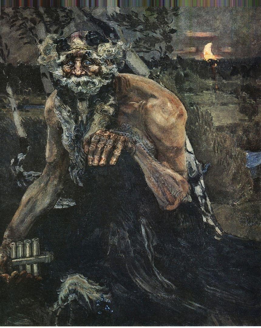 Михаил Врубель.Пан, 1899 г.Государственная Третьяковская галерея, Москва