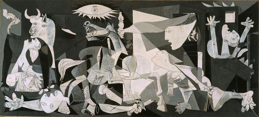 Герника. 1937 г.Музей королевы Софии, Мадрид, Испания