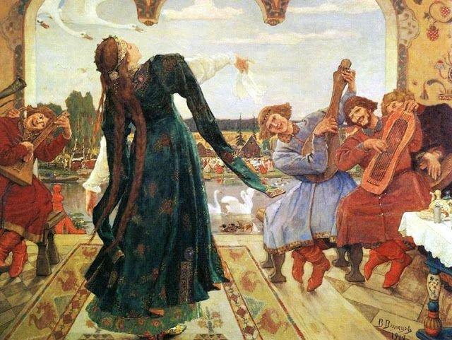 Виктор  Васнецов. Царевна-лягушка, 1918 г.Дом-музей В. М. Васнецова, Москва