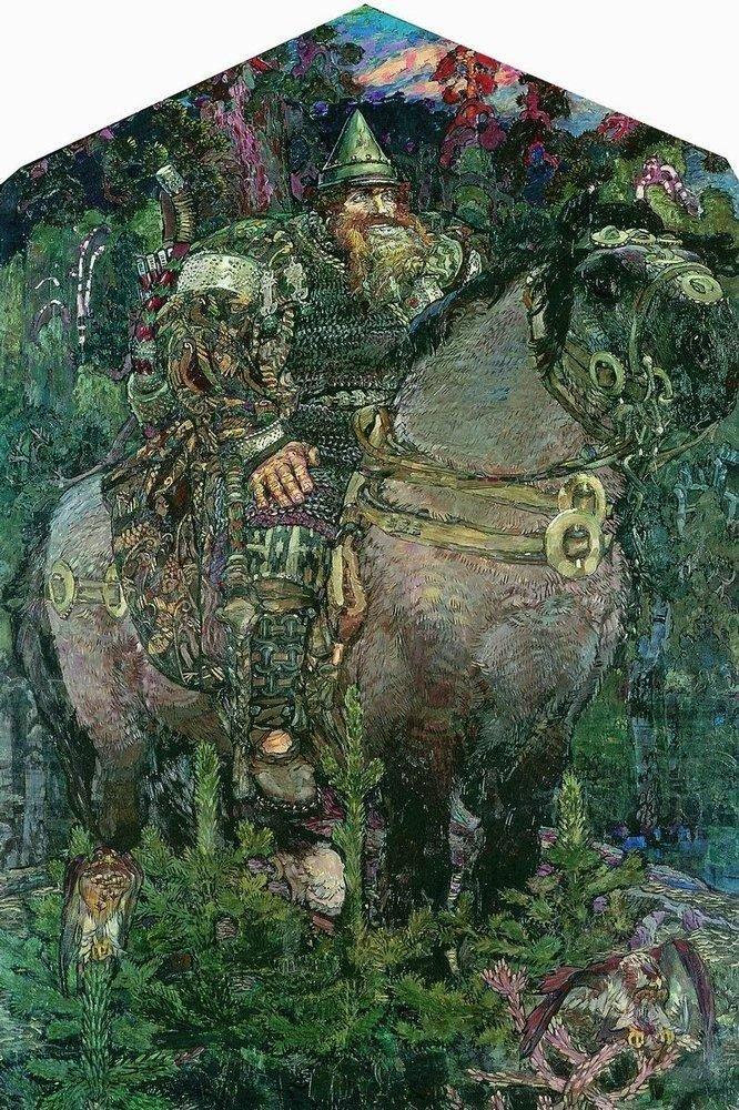 Михаил Врубель. Богатырь, 1898 г.Государственный Русский музей, Санкт-Петербург