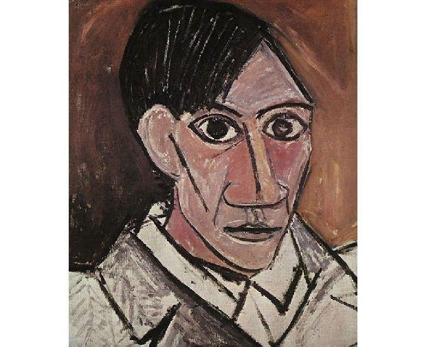 Пабло Пикассо. Автопортрет. 1907 г.wikiart.org