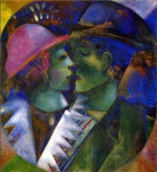 Зеленые любовники, 1915 г.частное собраниеwikiart.org