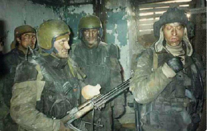 Гюрза и Григоращенко в кадре