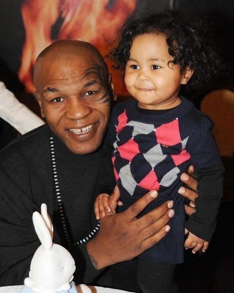 Майк Тайсон и его дочь Эксодус