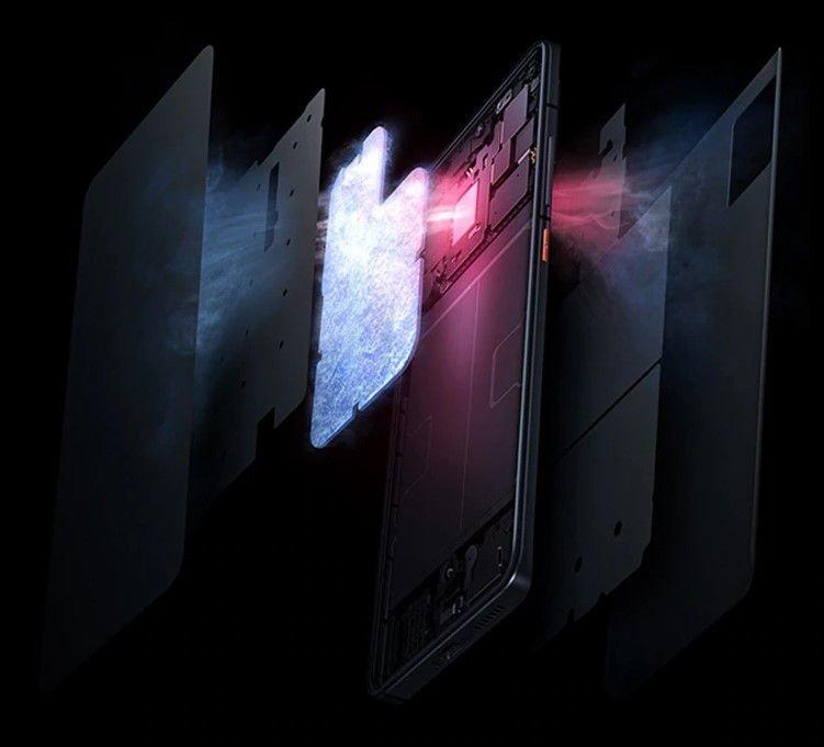 """Вот так """"слоями"""" производитель показывает технологию охлаждения (скрин с Aliexpress)"""