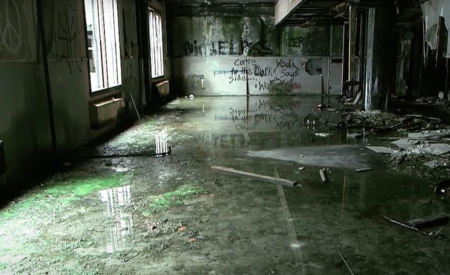 Внутри заброшенного Buckner Building