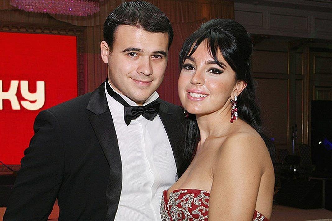 Лейла Алиева и ее бывший муж Эмин