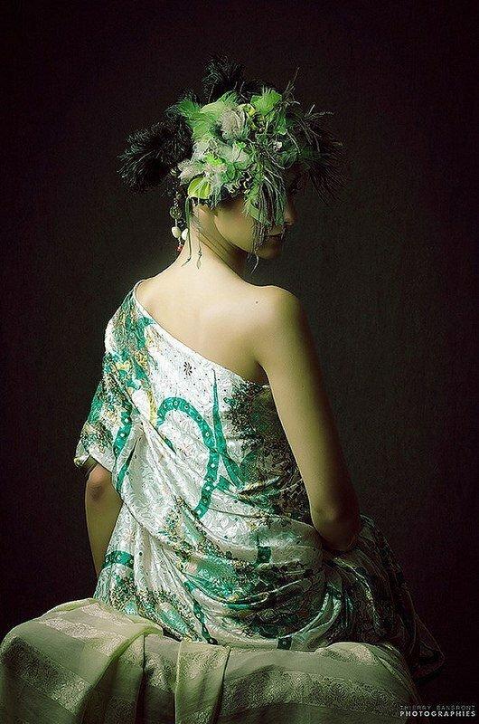 Фотограф Тьерри Бансронта — нежность женского тела в гармоничных позах