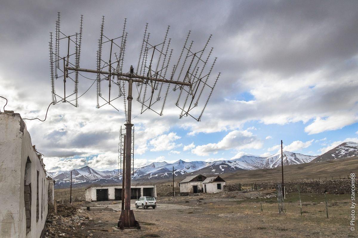 """Телевизионная антенна спутниковой системы """"Экран-КР"""""""