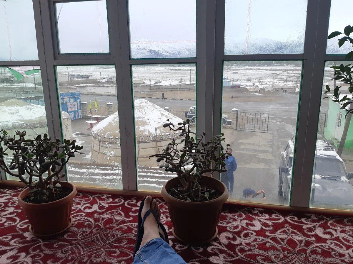 """Мургаб. Мой ночлег после двухсуточного рейда. Спасибо отелю """"Pamir"""" и лично менеджеру Таиру @tairtajaliev за предоставленные возможности. www.pamirhotel.com"""