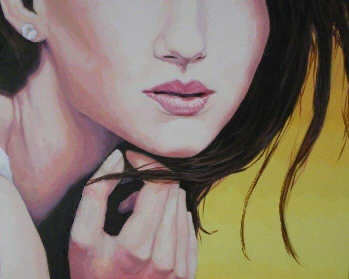 Рубен Анон Кастильо — художник, создающий картины в  реалистическом стиле