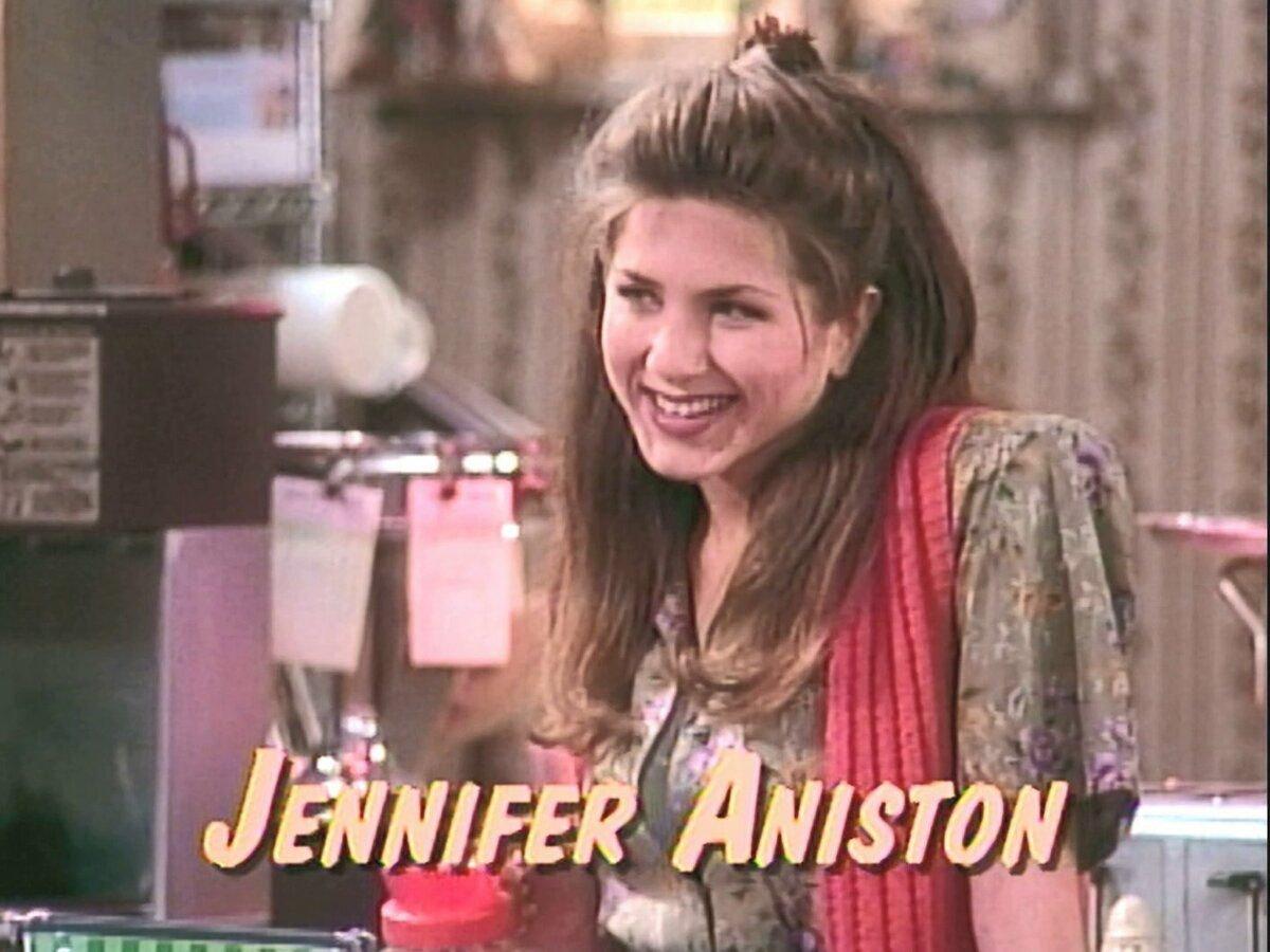 Дженнифер Энистон в сериале «Вставая на ноги»