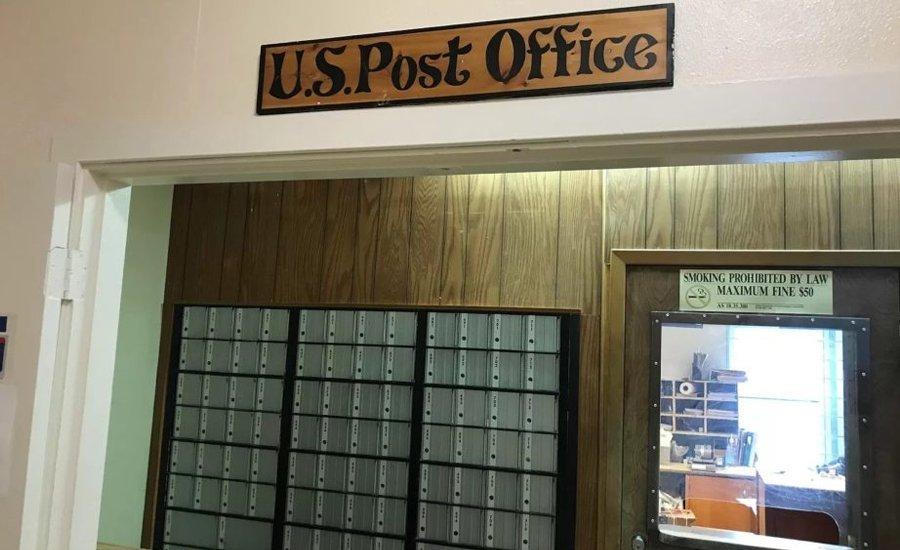 Почтовое отделение в Begich Towers