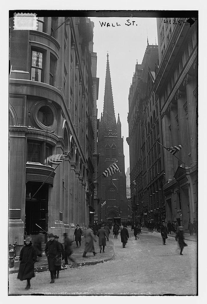 Уолл-стрит, 1915-1920 гг.