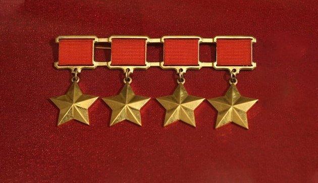 Два человека которые  были четырежды Героями Советского Союза