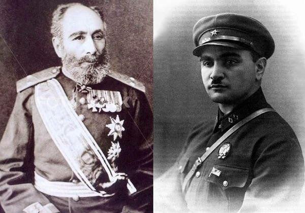 Ata - general-mayor və qardaşı oğlu - qırmızı briqada komandiri