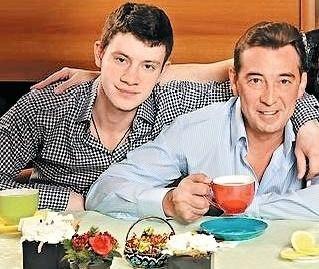 Николай Добрынин с сыном Михаилом