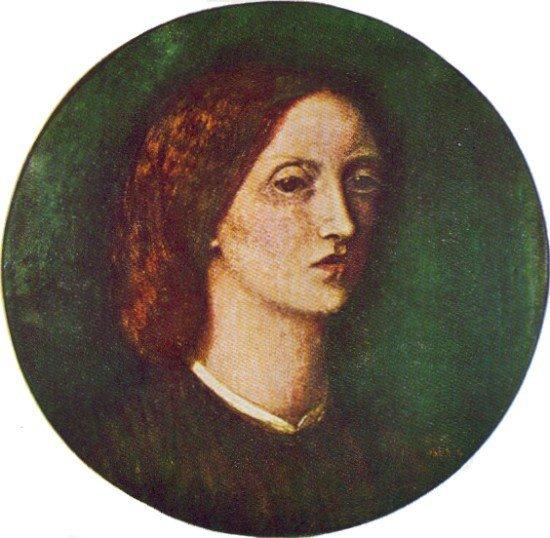 Элизабет Сиддал. Автопортрет.1853–1854 гг.