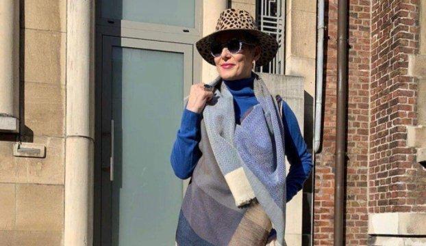 Носим как француженки: 4 оригинальных способа, как носить палантин осенью