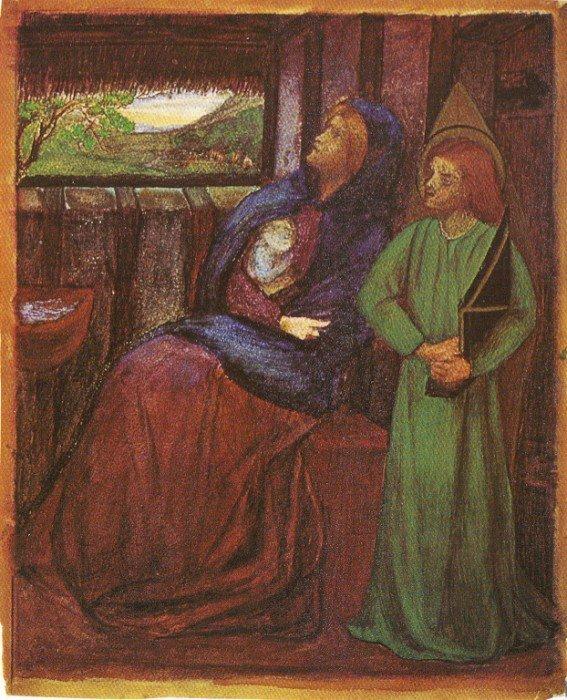 Элизабет Сиддал. Святое семейство