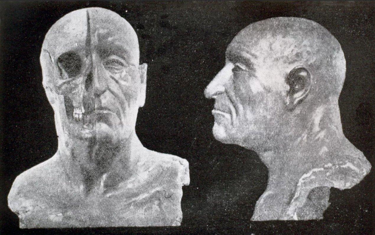 Реконструкция облика князя М. Герасимовым