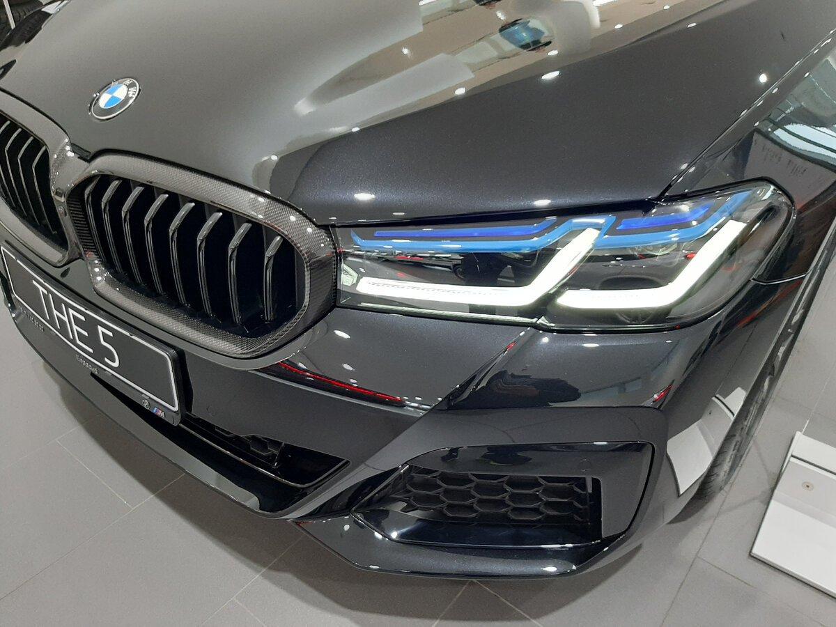 BMW5 G30 - лазерные фары
