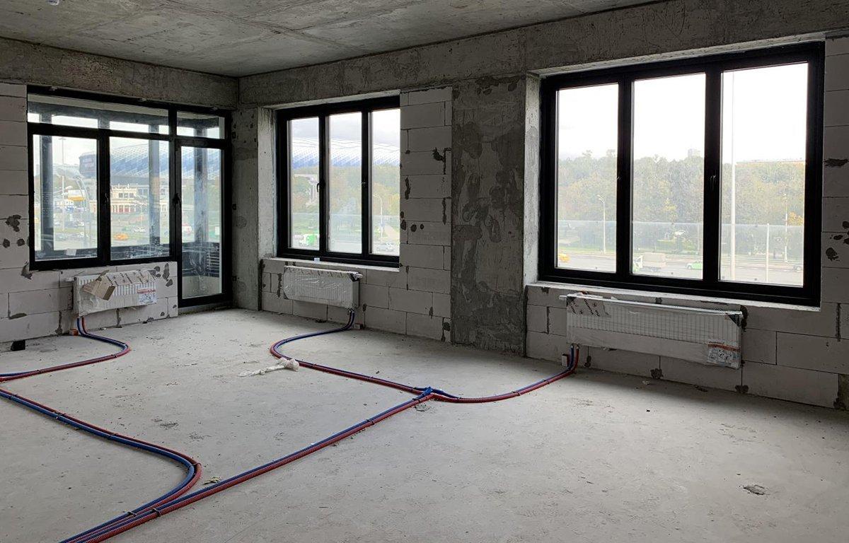 Идеальная квартира перед началом ремонта, та в которой нет перегородок. Не нужно ничего ломать и переносить