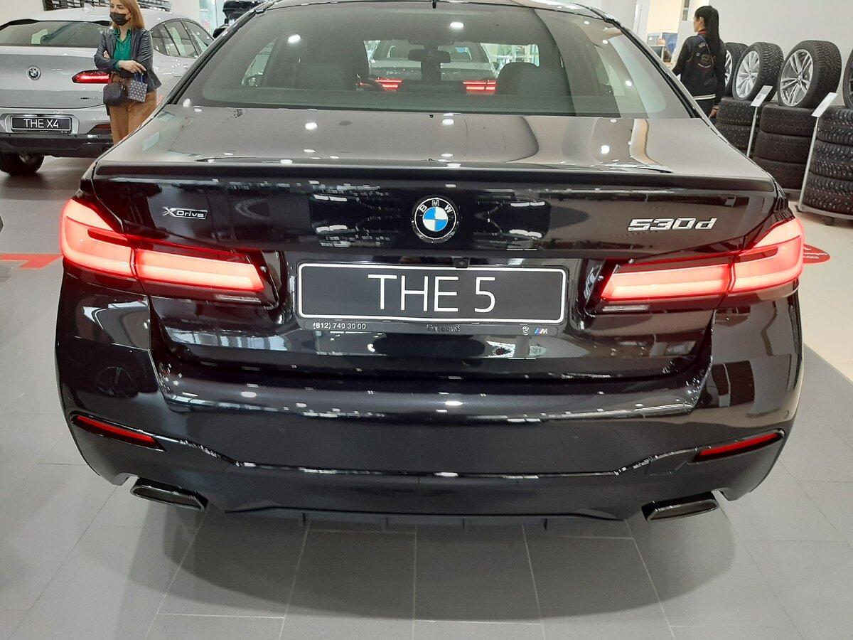 BMW5 G30 корма