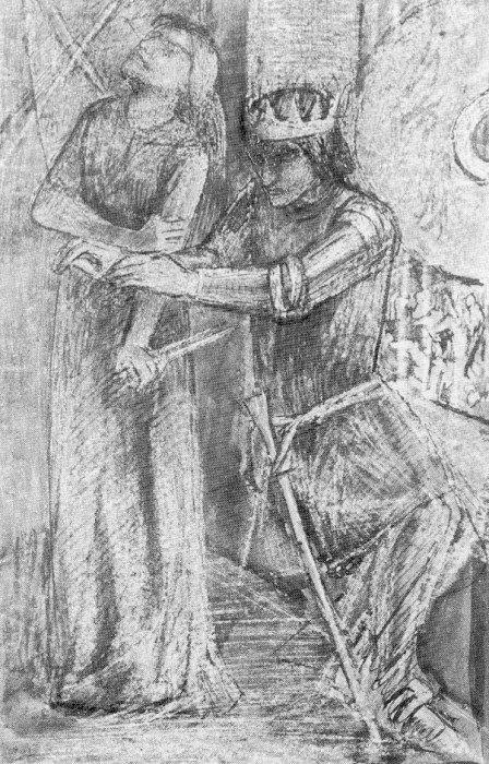 Элизабет Сиддал. Макбет