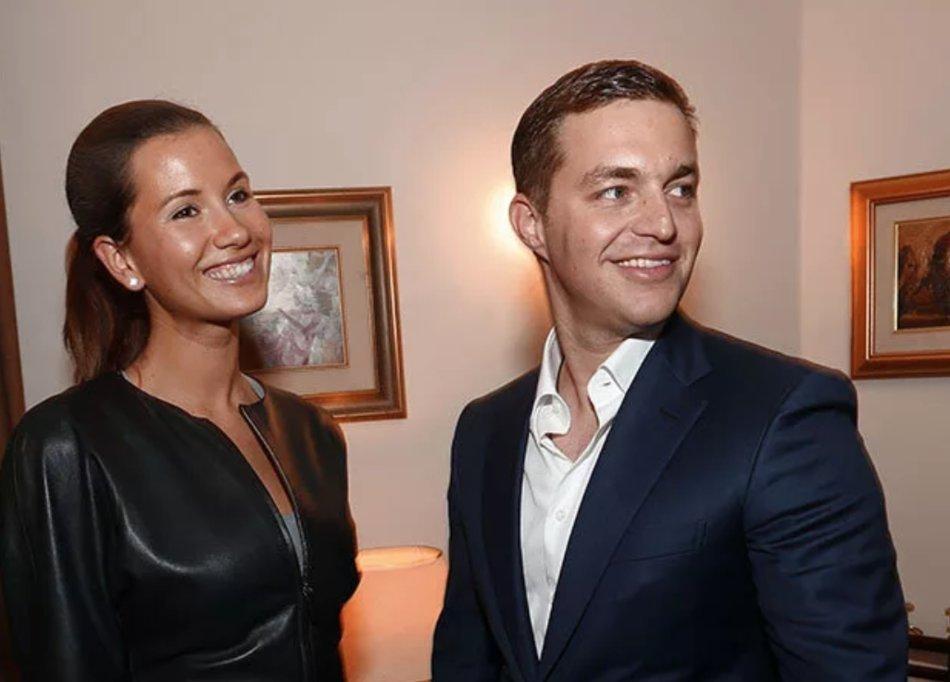 Екатерина вместе с мужемАлександром