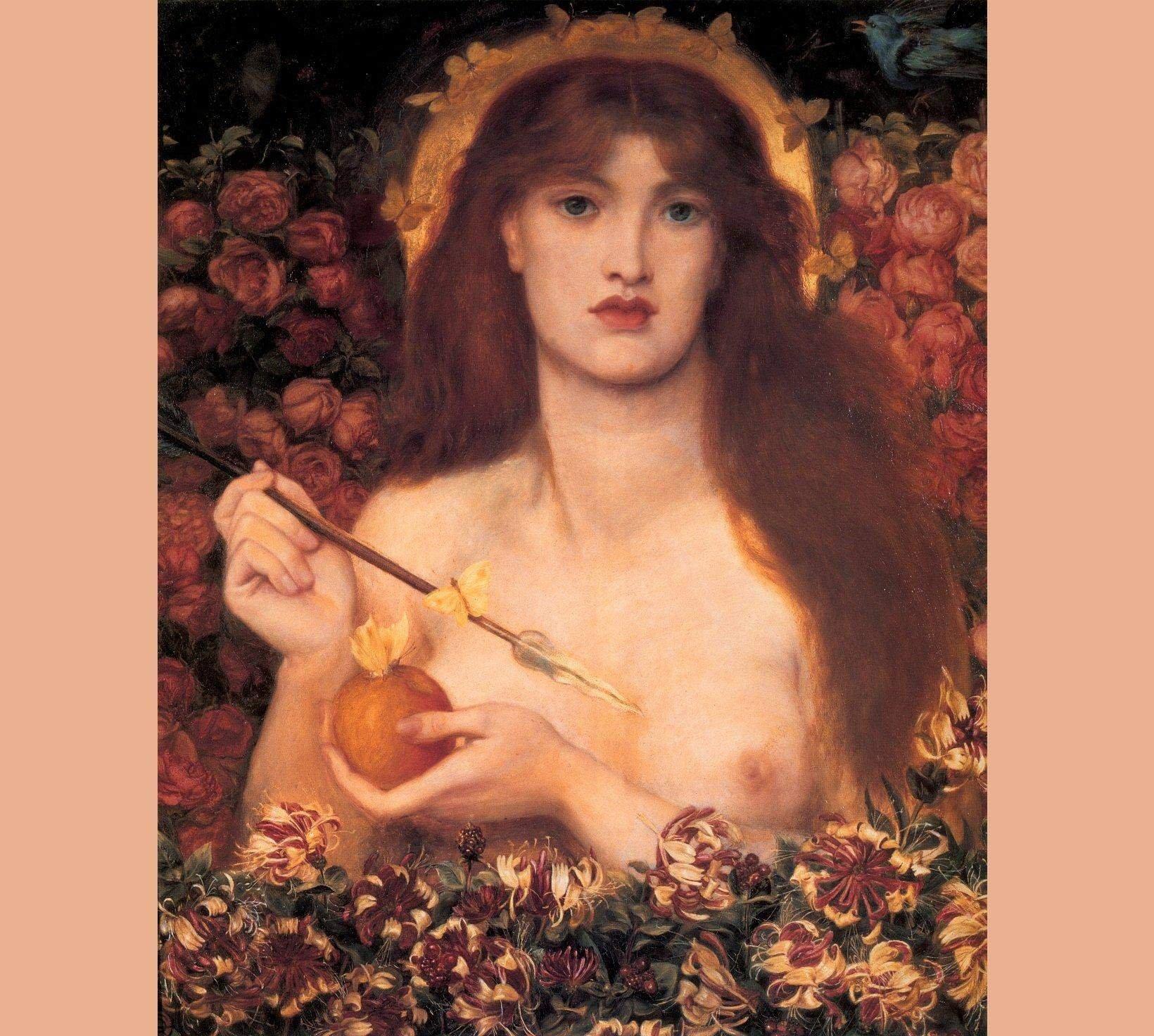 Данте Габриэль Россетти. Венера Вертикордия. 1864–1868 гг. Галерея и музей Рассел-Коутс, Борнмут, Великобритания